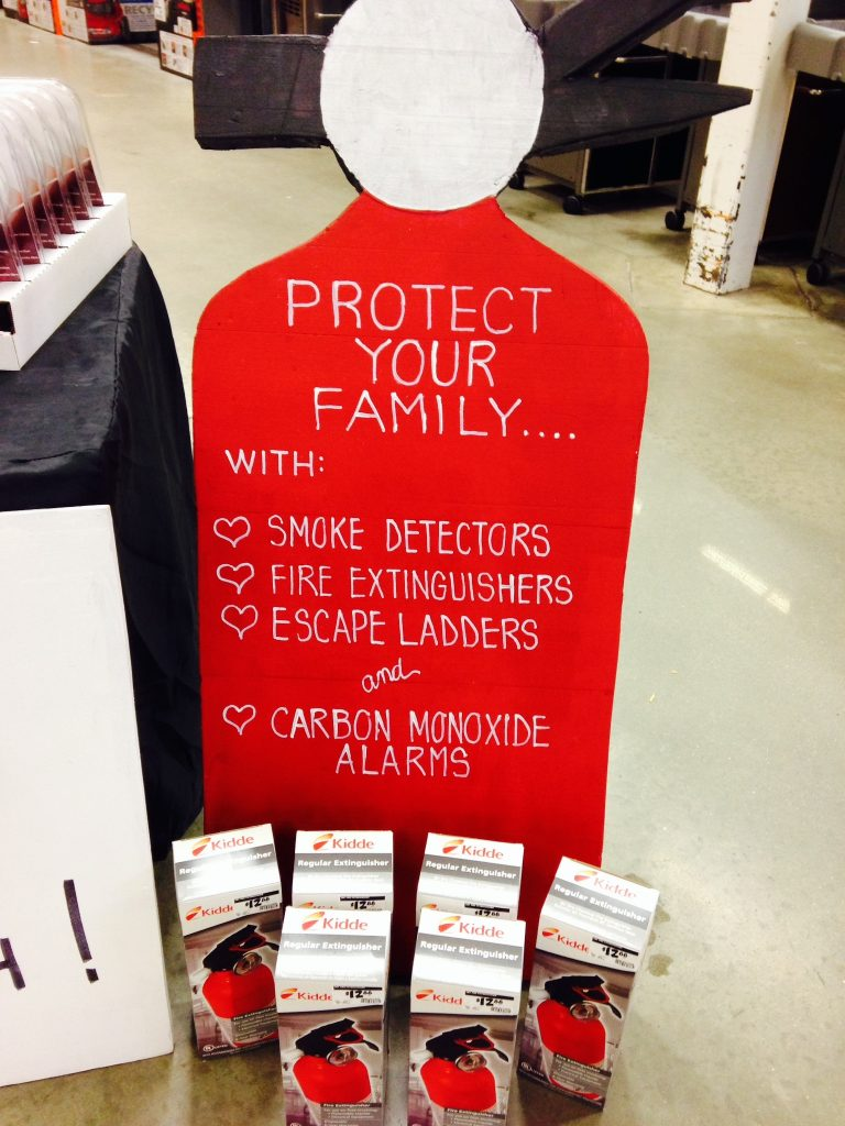 """Working Smoke Alarms Save Lives:  Test Yours Every Month!"""